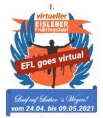 1. virueller Eisleber Frühlingslauf Logo